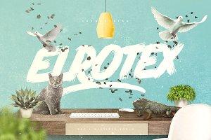 Elrotex Brush Font - New Update
