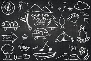 Camping Doodles