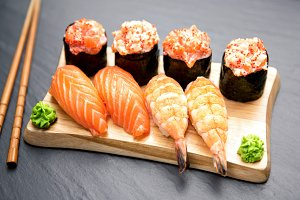 Nigiri Traditional Japanese Food