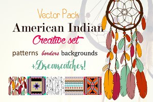 American Indian Creative Set