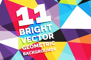 11 Bright Vector Backgrounds