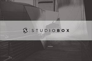 Letter S | Studio Box Logo Template