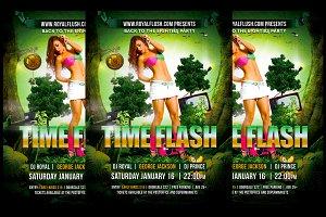 Time Flash + FB Banner