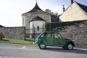 Vintage car, Citroen 2CV