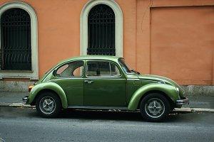 Vintage car, Volkswagen Beetle