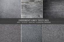 Different grey textures