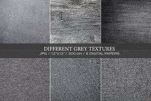 Different grey textures