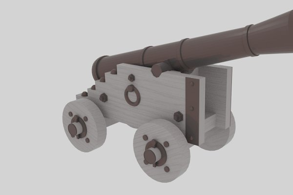 3D Weapons - Cannon