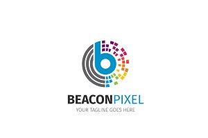 Pixel Letter B Logo