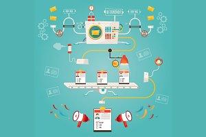 Illustration of human resource