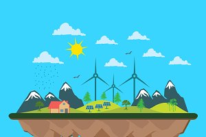 ecology, renewable energy