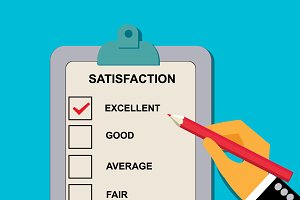 satisfaction evaluation form