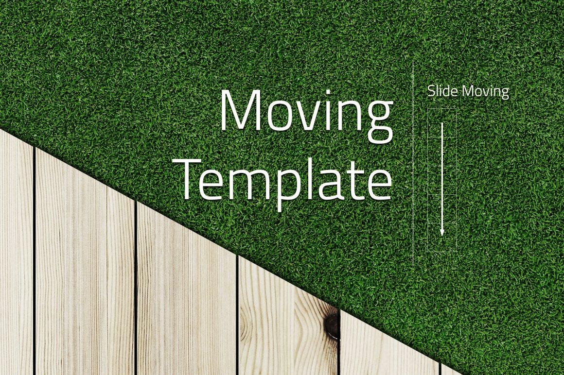 Grass Template Moving ~ Presentation Templates ~ Creative Market