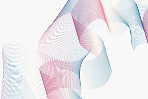 Color Gradient Swirl Background