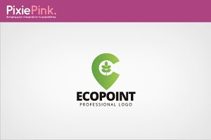 Eco Point Logo Template