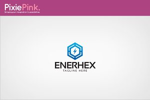 Enerhex Logo Template
