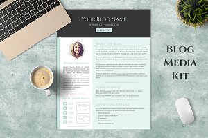 One Page Blog Media Kit