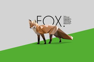 Low poly animals-Wild animals pack 1