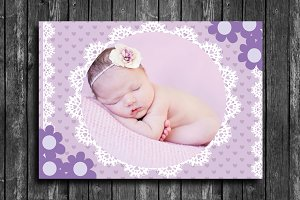 Lovely Baby Card