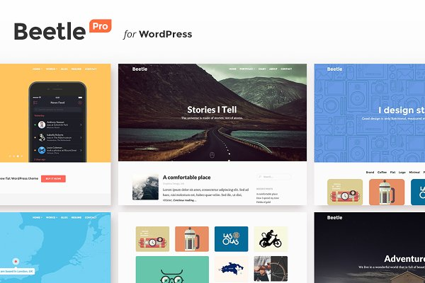 Beetle Pro for WordPress
