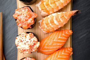 Nigiri Traditional Japanese Food