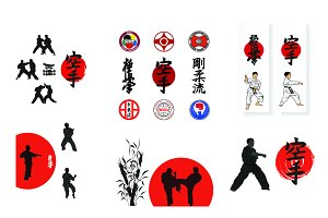 Vectorial set, Karate.
