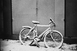 Bike at Winter