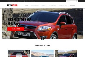 OS Autoseller - car dealership theme
