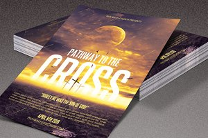 Pathway to the Cross Church Flyer