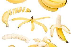 Collection of banana