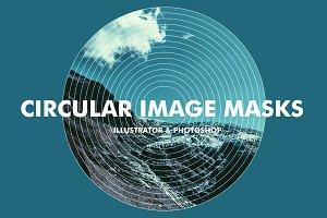 Circular Image Masks - Ai & Ps