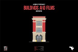 Buildings and Films - Ghostbusters