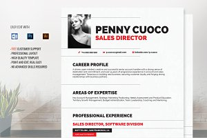 Resume Template - Auriage