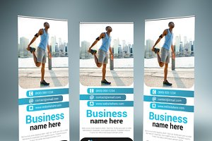 Multipurpose Roll-Up Banner 02