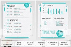 Creative Resume Template - Berenices