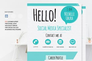 Creative Resume Template - Berenices