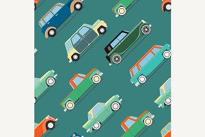 wallpaper of set vintage cars