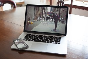 Macbook & iPhone Mockups
