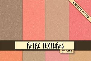 Retro textures.