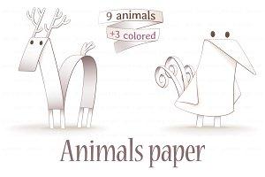 Animals paper