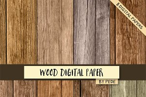 Wood digital paper.