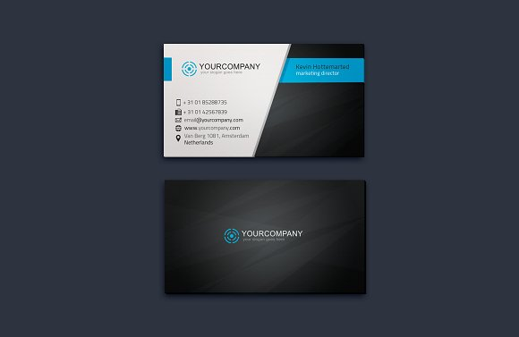 Corporate Business Card Vol. 06 - Business Cards
