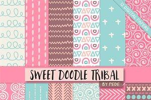 Sweet doodle tribal.