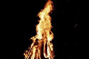 Natural bonfire