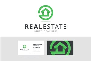 real estate logo photos graphics fonts themes templates