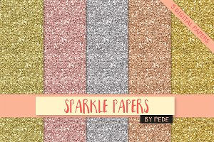 Sparkle papers.