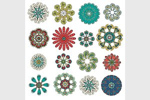 Round Ornament Pattern