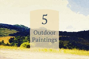5 Outdoor Paintings