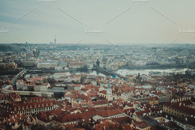 red roofs. Prague - Photos