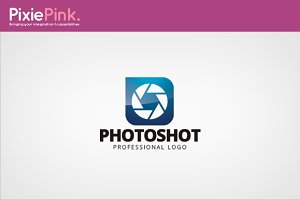 Photo Shot Logo Template